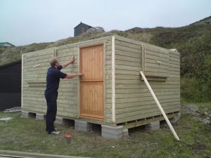 14ft x 11ft Customised Beach Hut 6JPG-min