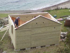 14ft x 11ft Customised Beach Hut 8JPG-min