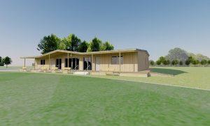 Charlton Kings Concpt Cricket Pavilion